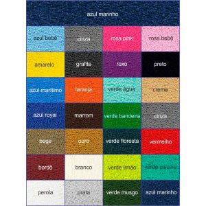 Tabela de cores vinil