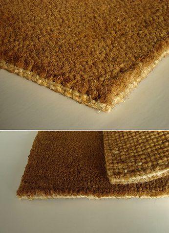 Tapete de fibra de côco